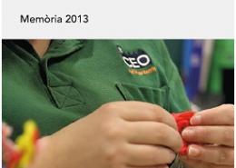 PUBLICACIÓ DE LA MEMÒRIA INSTITUCIONAL DE LA FUNDACIÓ EL MARESME DEL 2013