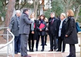 Visita oficial de Neus Munté, Consellera de Benestar Social i Família