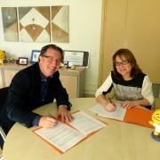 La Fundació el Maresme i l'escola de música El Carreró signen un acord