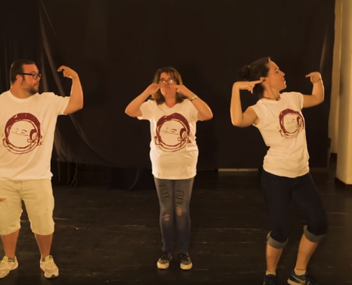 pantallazo vídeo flashmob