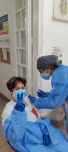 Persones treballadores i ateses de la residència Llar Santa Maria_vacuna Covid19_5