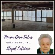 Gràcies, maria rosa delàs_llegat solidari fundació el maresme