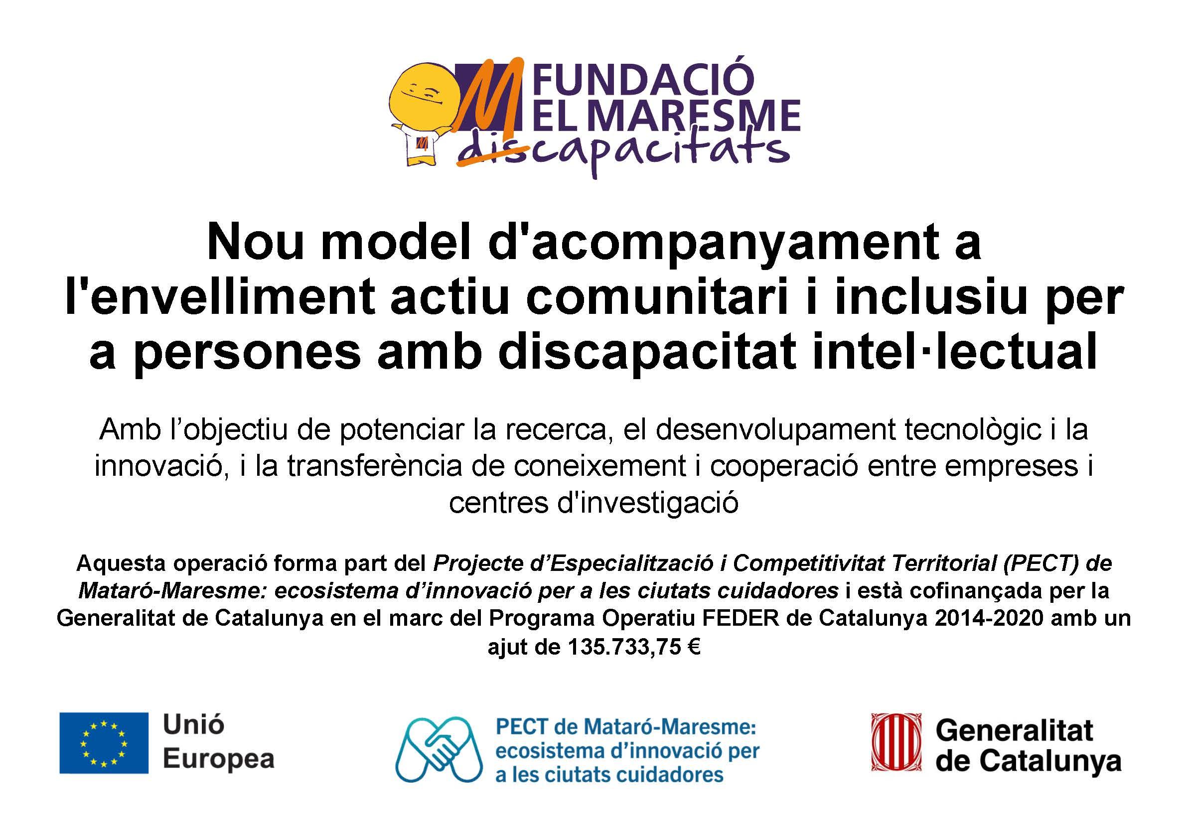 fundació el maresme_PECT_envelliment actiu comunitari i inclusiu
