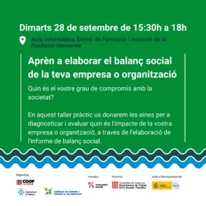 apropem l'ESS_setembre 2021_Fundació el Maresme_coop maresme_balanç social